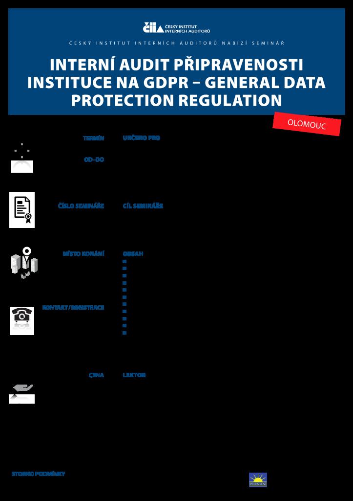 Interni audit GDPR